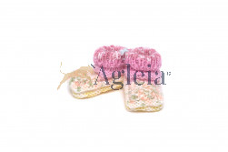 NEWBORN SLIPPERS multicolor