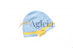 Hat BOW blue